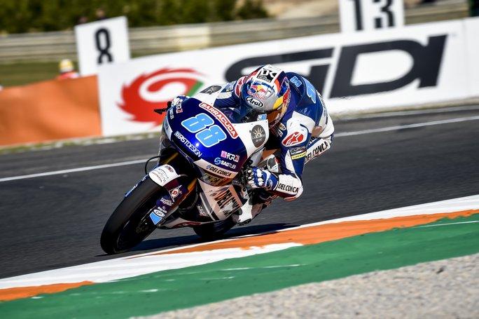 Moto3 Valencia Warm Up: Martin davanti a Mir e Di Giannantonio