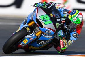 """Moto2 Valencia Day 1: Morbidelli, """"Ci manca il grip"""""""