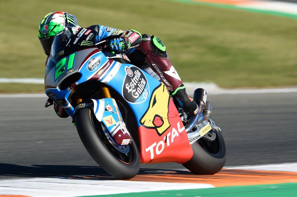 """Moto2 Valencia Qualifiche: Morbidelli, """"Ci sarà una bella lotta"""""""