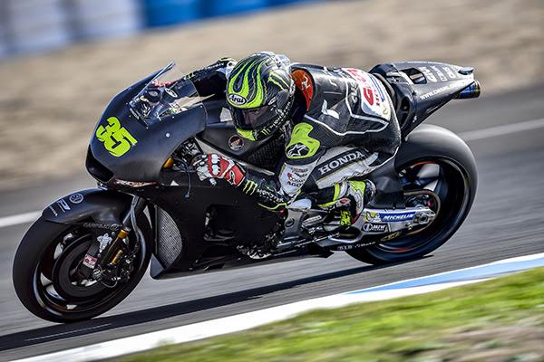 """MotoGP Test Jerez Day 2: Crutchlow, """"Sono  contento del passo con la moto 2018"""""""