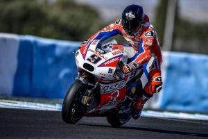 """MotoGP Test Jerez Day 3: Petrucci, """"E' presto per poter dare dei giudizi sulla nuova moto"""""""