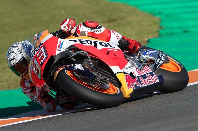 MotoGP Test Valencia ore 15.00: Marquez sempre al Top, Dovizioso è terzo