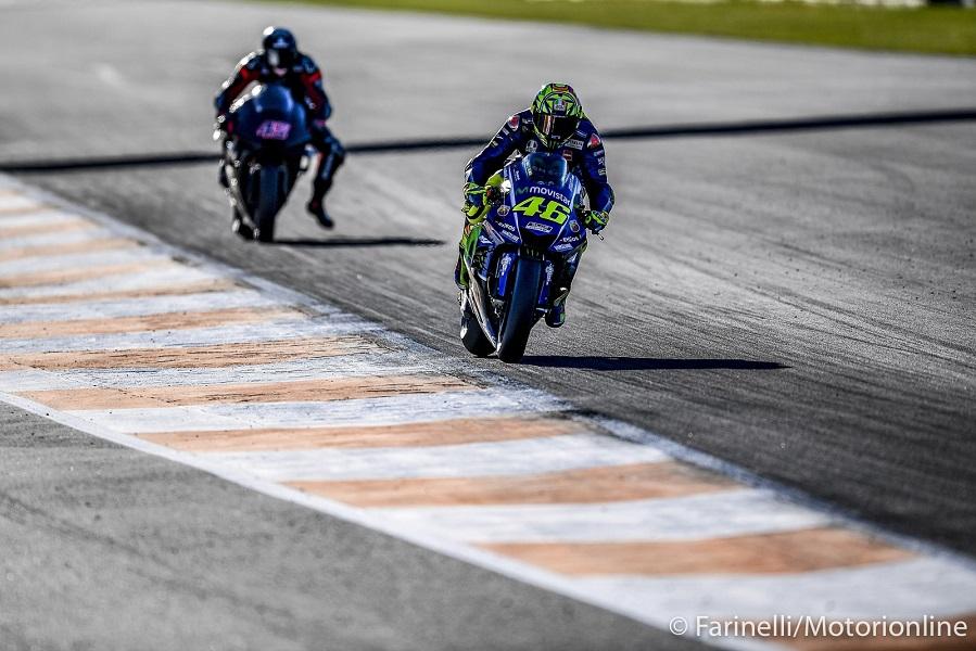 """MotoGP Test Valencia Day 2: Rossi, """"Ci siamo concentrati sulla scelta del motore"""""""
