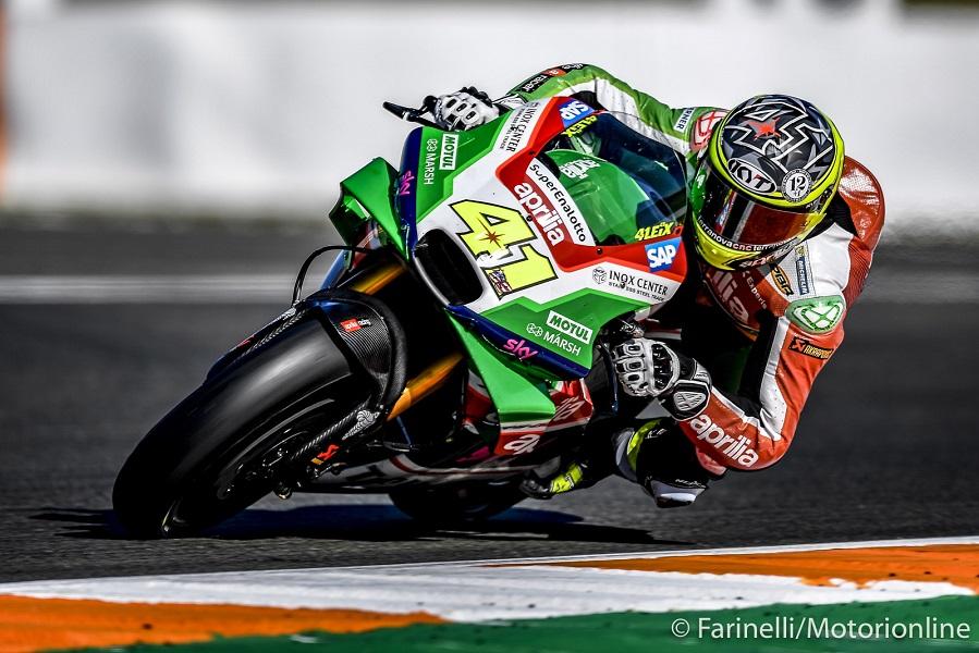 """MotoGP Test Valencia Day 2: Espargarò, """"Abbiamo provato molti nuovi componenti"""""""