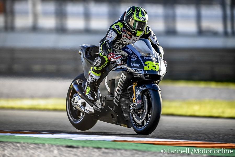 """MotoGP Test Valencia Day 2: Crutchlow, """"Oggi sono stato veloce con la nuova moto"""""""
