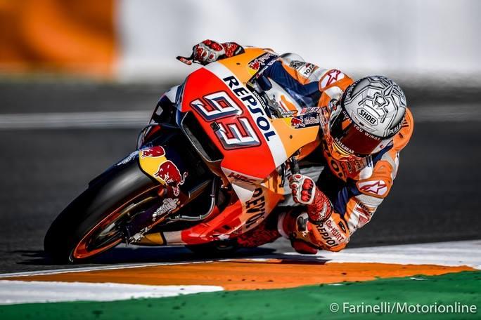 MotoGP Test Valencia Day 2 Mattina: Marquez al Top, Zarco promuove la M1 2017