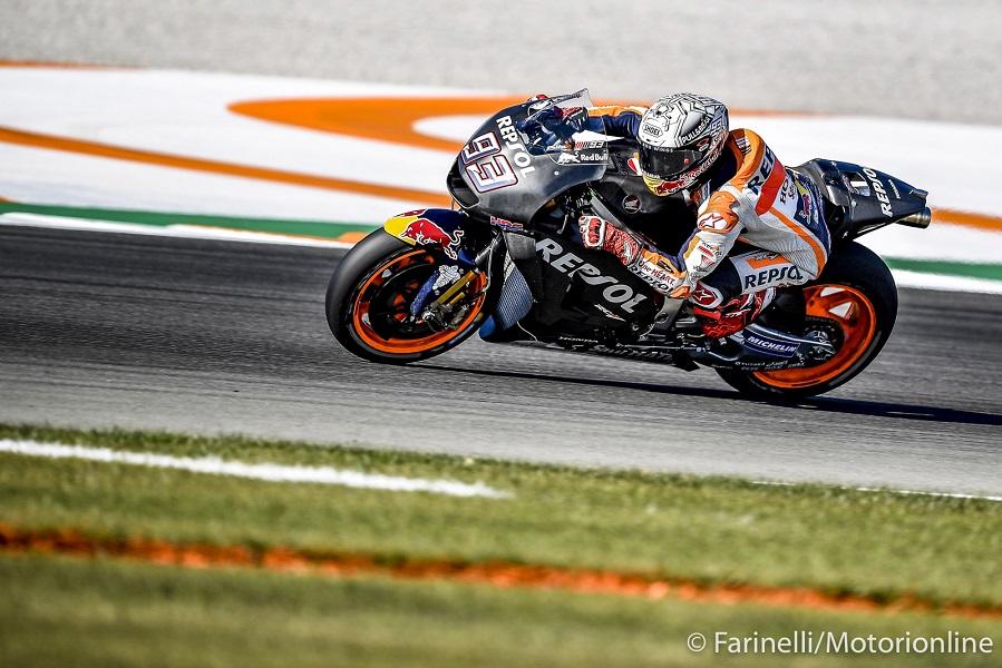 """MotoGP Test Valencia Day 2: Marquez, """"Oggi è stata una giornata molto positiva"""""""
