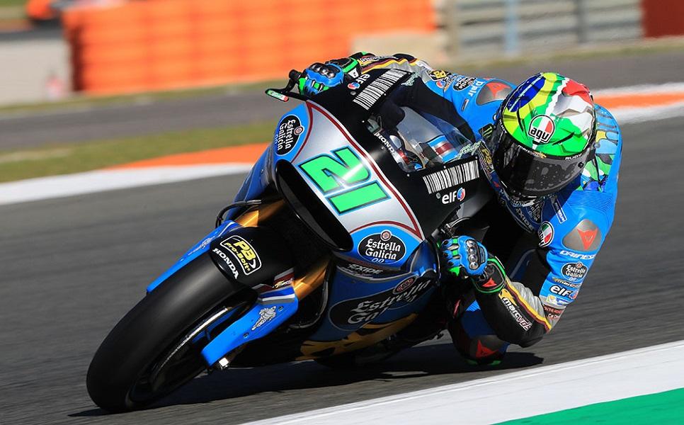 """MotoGP Test Valencia Day 1: Morbidelli, """"Avere Valentino e Marc davanti è stato il momento più bello"""""""