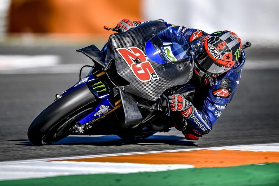 """MotoGP Test Valencia Day 1: Vinales, """"Sono tornati i sorrisi, mi sentivo meglio"""""""