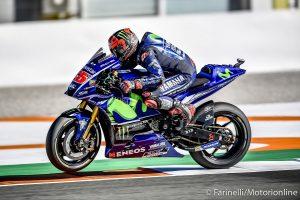 """MotoGP Test Valencia Day 2: Vinales, """"Ieri mi sono sentito più a mio agio sulla moto"""""""