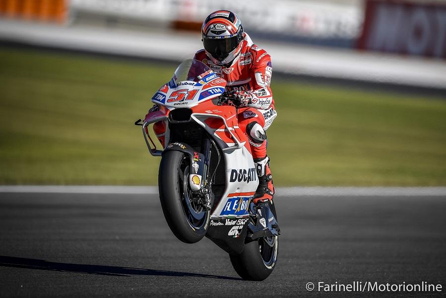 """MotoGP Valencia Day 1: Pirro, """"Posso solo migliorare"""""""