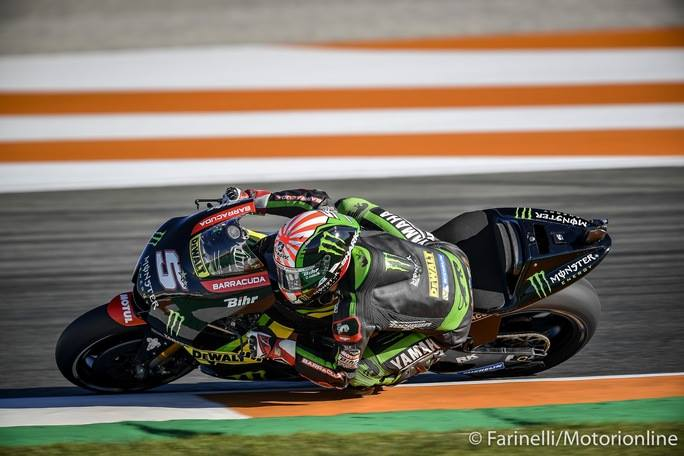 """MotoGP Valencia Gara: Zarco, """"Ho preferito fare secondo che cadere"""""""
