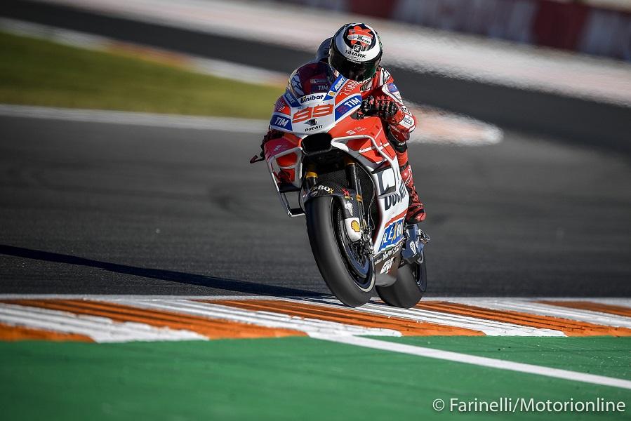 """MotoGP Valencia Qualifiche: Lorenzo, """"La caduta? Sarei potuto essere in pole o secondo"""""""