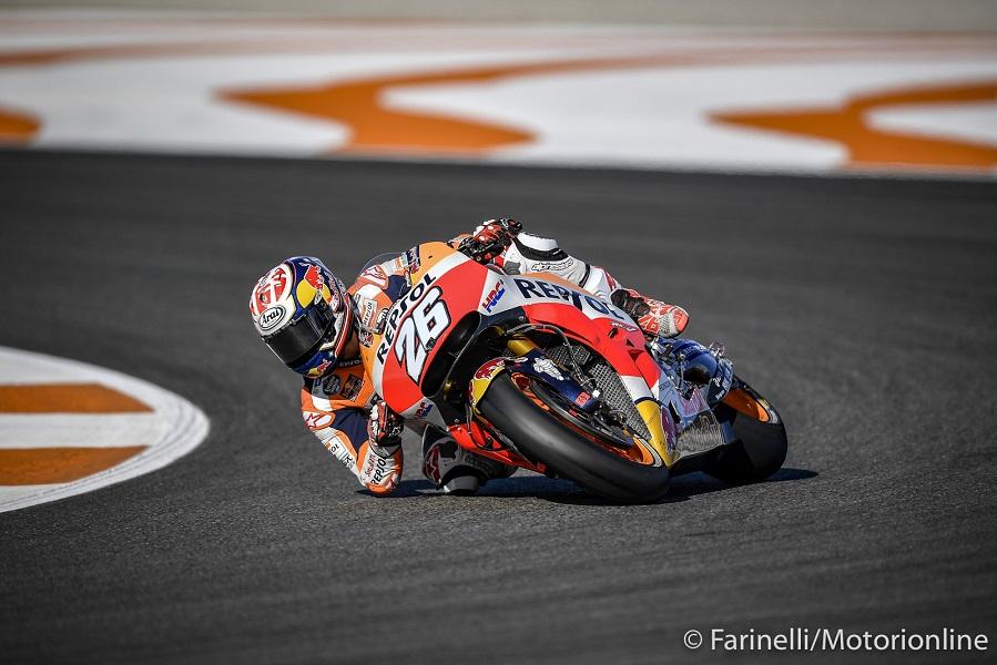 """MotoGP Valencia Qualifiche: Pedrosa, """"Ho incontrato traffico nel giro più veloce"""""""