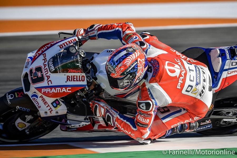 """MotoGP Valencia Qualifiche: Petrucci, """"Una buona gara sarà finire tra i primi dieci"""""""