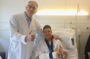 MotoGP: Takaaki Nakagami, operazione riuscita a Barcellona