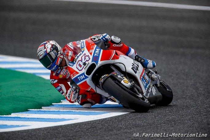 Andrea Iannone il migliore nei test combinati MotoGP-SBK a Jerez