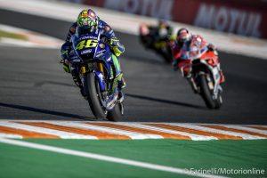 """MotoGP Valencia Qualifiche: Rossi, """"Sono meno frustrato di Vinales, perchè sapevo che la moto non andava bene"""""""
