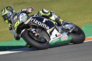 """MotoGP Valencia Day 1: Crutchlow, """"Difficile adattare la moto al circuito"""""""