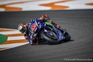MotoGP Test Valencia Day 1: Vinales è il più veloce, Rossi quarto dietro a Marquez