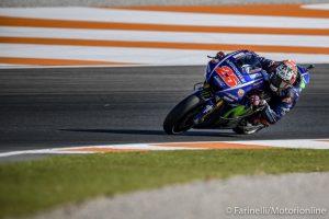 """MotoGP Valencia Qualifiche: Vinales, """"La Yamaha si sarebbe dovuta fidare di me e non di altri"""""""