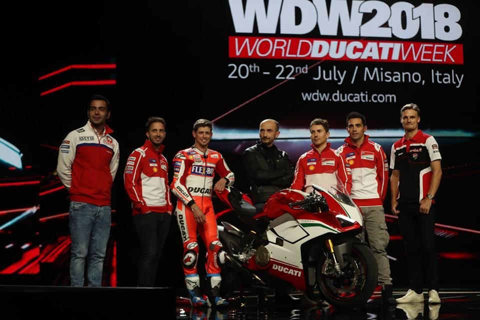 """MotoGP, Ducati World Premiere: Dovizioso, """"La più grande soddisfazione è far emozionare i tifosi"""""""