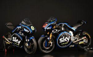 Presentata la nuova livrea dello Sky Racing Team VR46