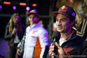 """MotoGP: Dani Pedrosa, """"Marquez? E' sempre motivato e fa allenamenti particolari"""""""
