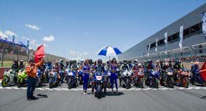 MotoGP: Maverick Vinales in pista al Kyalami Grand Prix Circuit