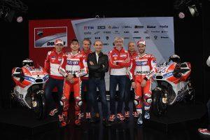 MotoGP: Ducati presenterà la nuova GP18 il 15 gennaio