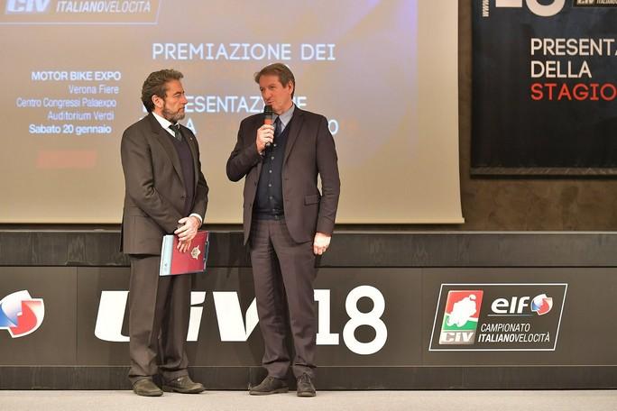 CIV: presentata la stagione 2018 in occasione del Motor Bike Expo di Verona