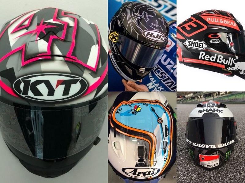 MotoGP   Svelati i caschi per i test invernali