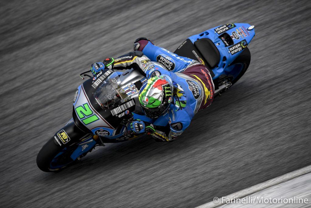 """MotoGP   Test IRTA Sepang Day 3: Morbidelli, """"Prove positive, non vedo l'ora che arrivi la Tailandia"""""""
