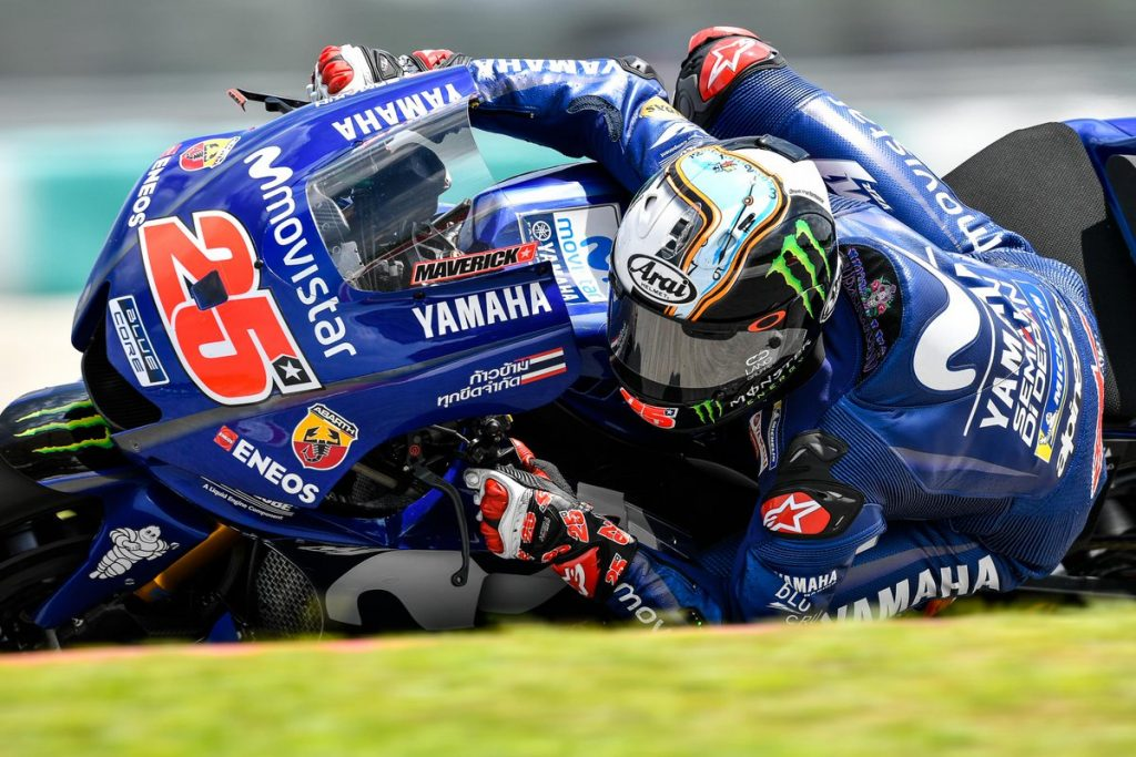MotoGP | Test IRTA Sepang Day 2: Vinales al top, Rossi in scia