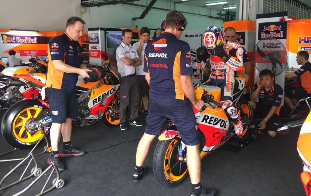 MotoGP | Test IRTA Sepang Day 1: Pedrosa precede quattro Ducati, Rossi 6°