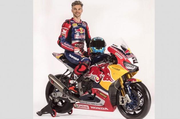 SBK| Svelata la nuova livrea CBR Red Bull Honda