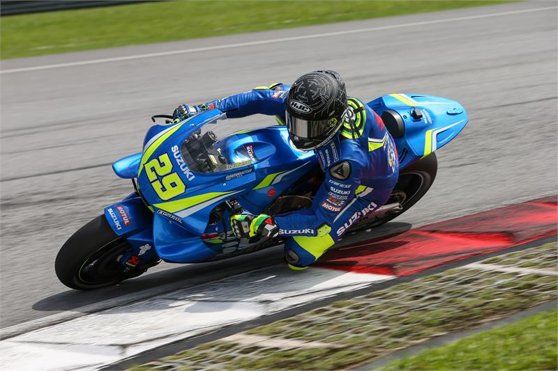 """MotoGP   Test IRTA Sepang Day 2: Iannone, """"Tanti riscontri positivi dalla GSX-RR"""""""