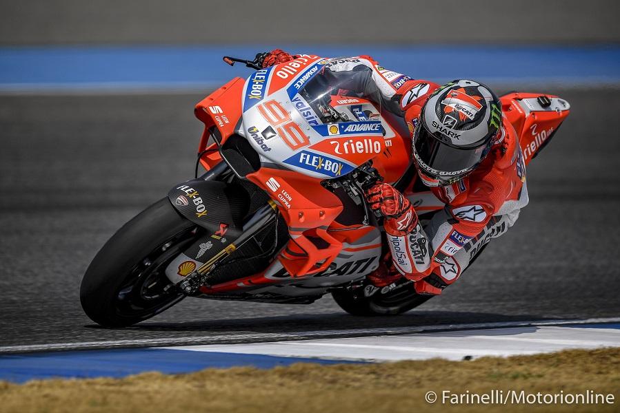"""MotoGP   Test IRTA Thailandia Day 2: Lorenzo, """"Non mi trovo ancora bene con la mia moto"""""""