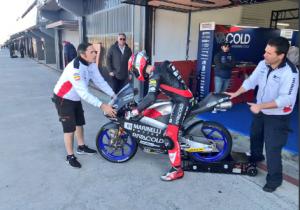 Moto3  Test Irta Valencia Day 3: Arbolino davanti a tutti