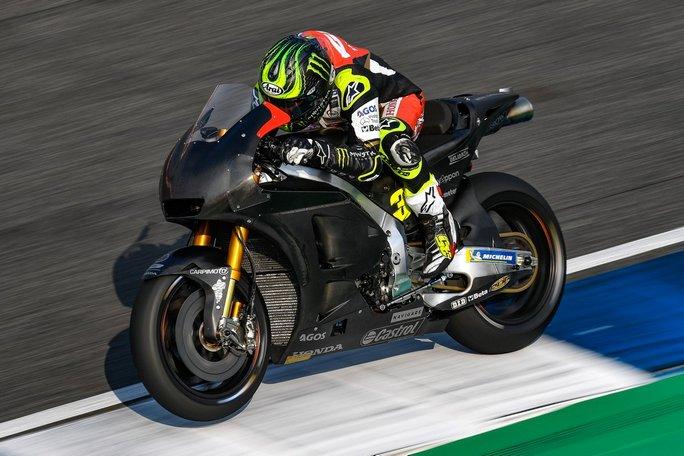 MotoGP   Test IRTA Thailandia Day 1: Crutchlow è il più veloce, bene Dovizioso, Rossi è ottavo
