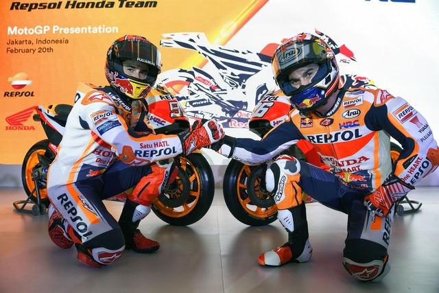MotoGP   Presentata a Jakarta la nuova livrea del team Honda Repsol [Foto]