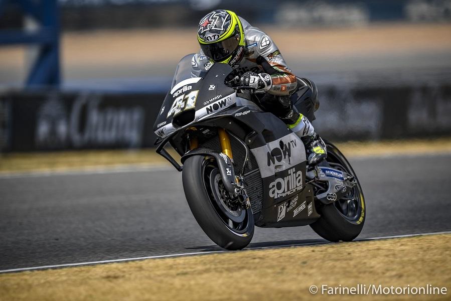 MotoGP | Aprilia in galleria del vento per testare la nuova carena