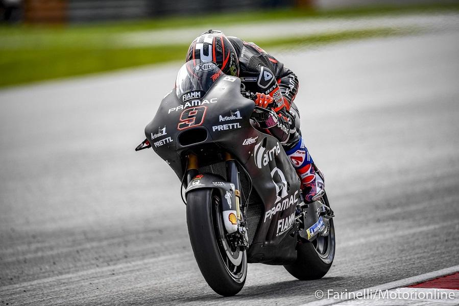 """MotoGP   Daniele Romagnoli: """"Penso che Petrucci possa stare con il gruppo di testa"""""""