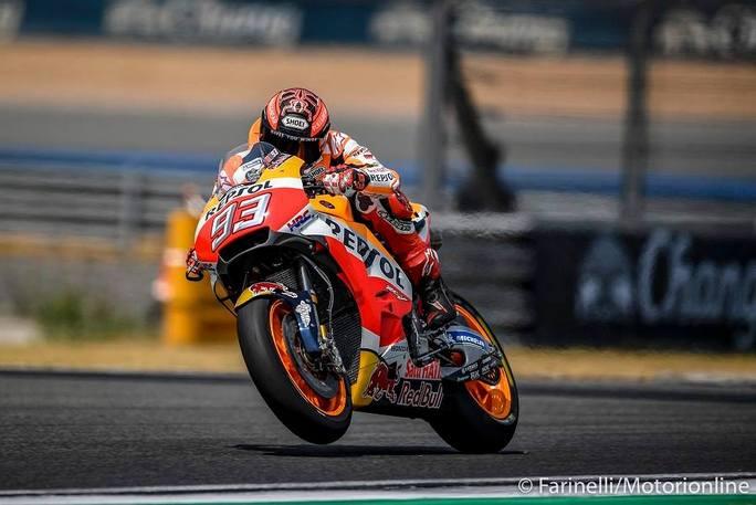 MotoGP   Test IRTA Thailandia Day 2: Marquez e Honda monopolizzano la giornata, Rossi in difficoltà