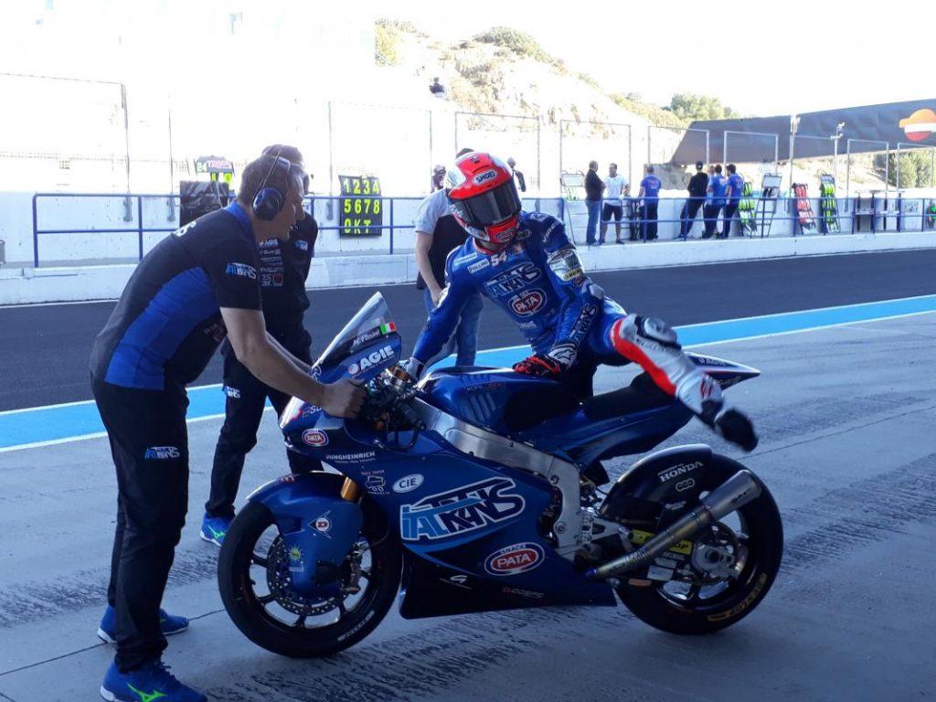 Moto2 Test IRTA Valencia Day 3: Pasini al comando
