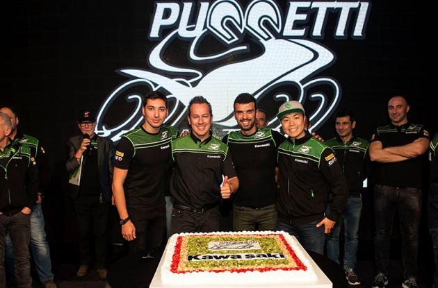 SBK | Presentato il Team Kawasaki Puccetti Racing