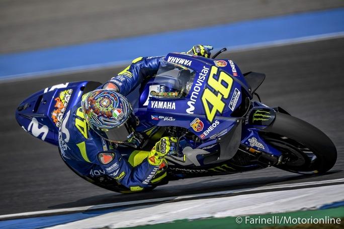 """MotoGP   Test IRTA Thailandia Day 2: Rossi, """"Non risolveremo i problemi prima del Qatar"""""""