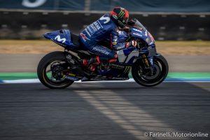 "MotoGP   Test IRTA Thailandia Day 3: Vinales, ""Non mi sento a posto con questa moto"""