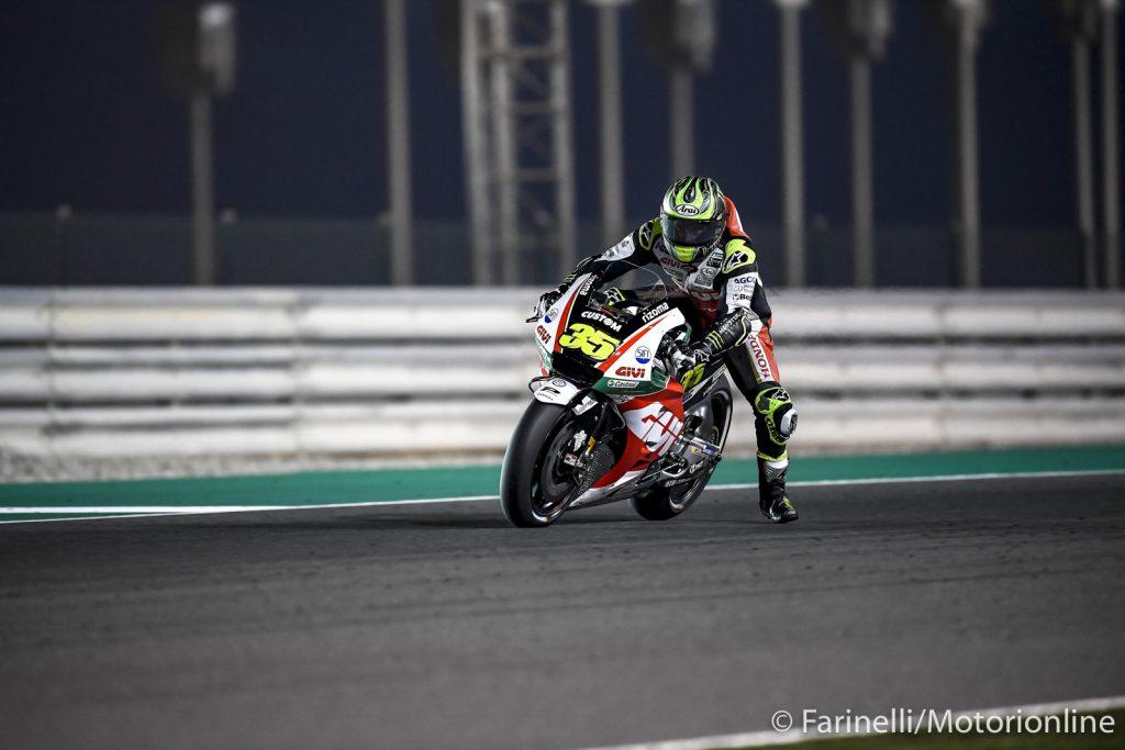 """MotoGP   Test IRTA Qatar Day 3: Crutchlow, """"Il lavoro svolto fino adesso è molto positivo"""""""