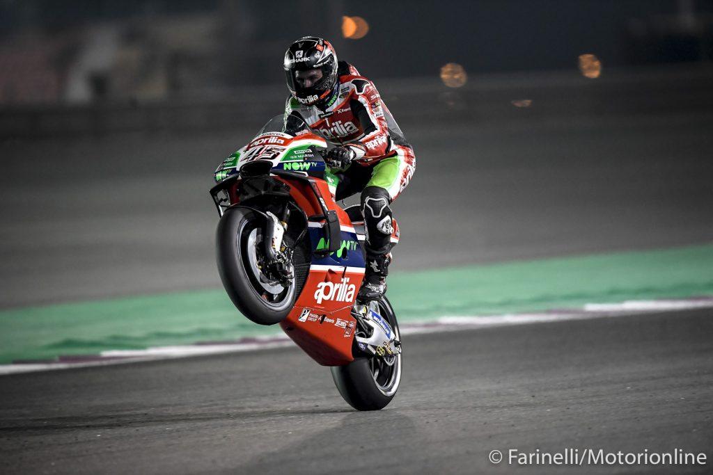 """MotoGP   GP Qatar Qualifiche: A.Espargarò, """"Con il nuovo motore la mia Aprilia ha fatto un passo in avanti"""""""